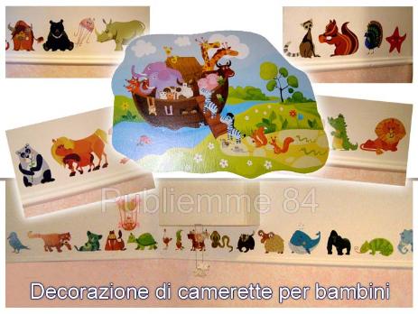 Adesivi per pareti digital murales publiemme 84 - Decorazioni muri camerette bambini ...